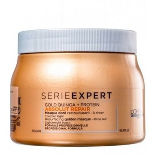 L'Oréal Professionnel Absolut Repair Gold Quinoa + Protein - Máscara 500gr