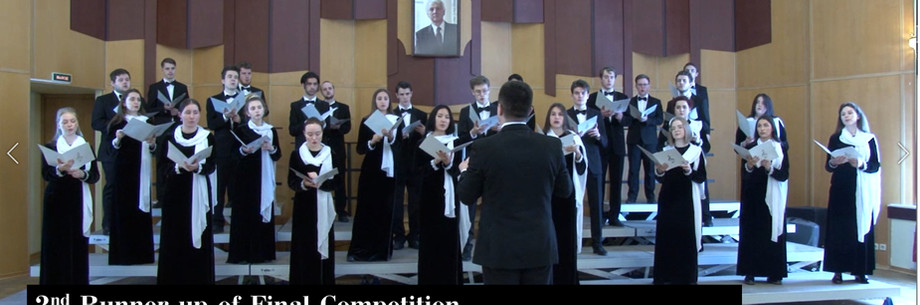 Victor Popov Academy of Choral Art Student's Ensemble (Russia)