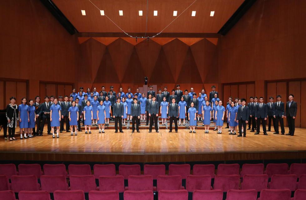 Heep Yunn School & Wah Yan College Kowloon Senior Mixed Choir (Hong Kong,China)