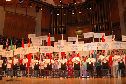 2005 World Children's Choir Festival Hong Kong