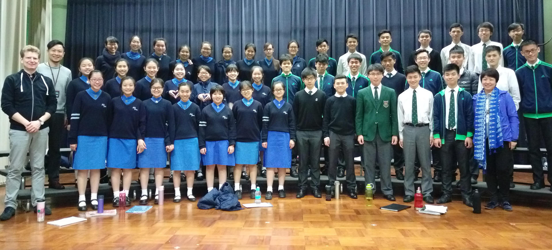 Heep Yunn School & Wah Yan College Kowloon Mixed Choir (Hong Kong, China)