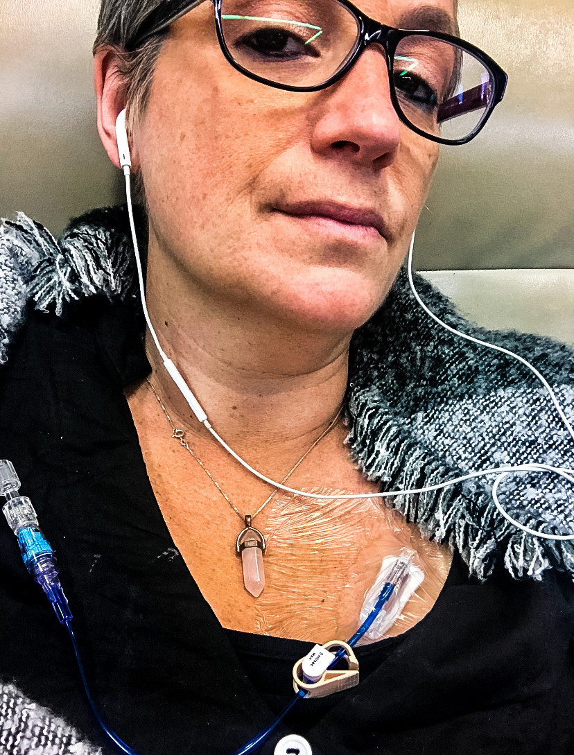 Infusion Day | Cancer's A Bitch