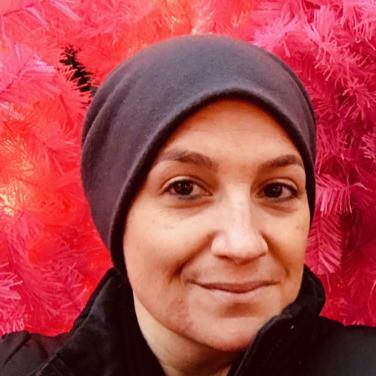 My Chemo Beanie - Cancer's A Bitch Blog