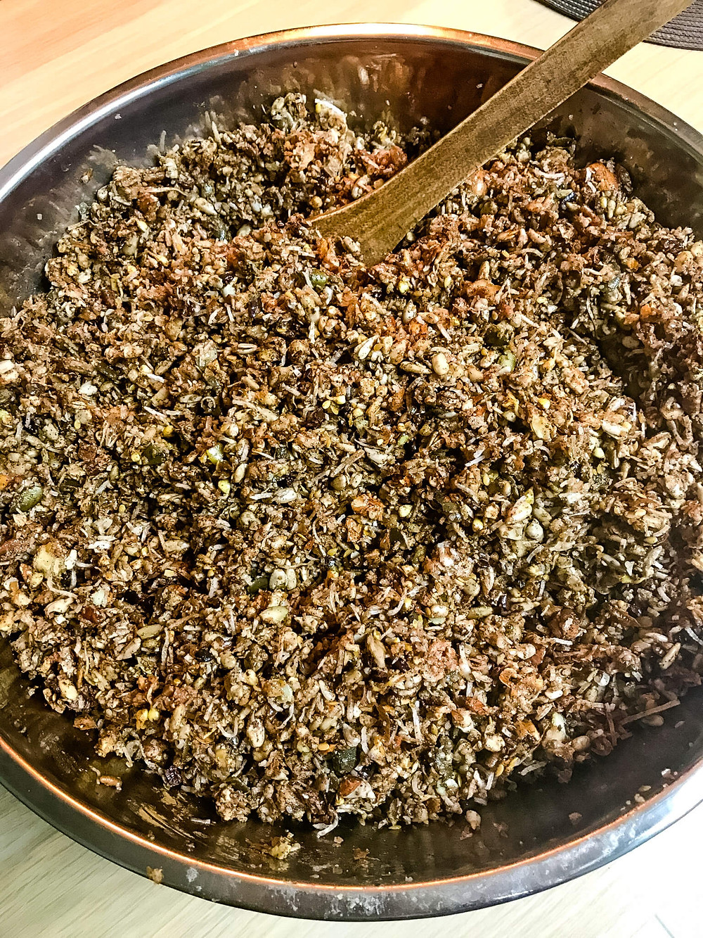 Making Homemade Low Carb Granola