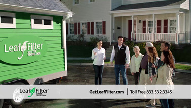 LeafFilter Tiny House