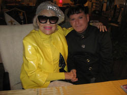 Carol Channing With Brother Andy