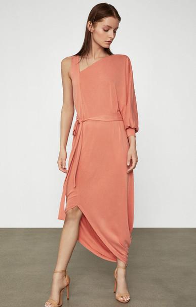 Single Sleeve Jersey Dress