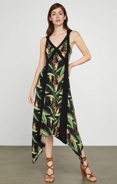 Bird Of Paradise Strappy Dress