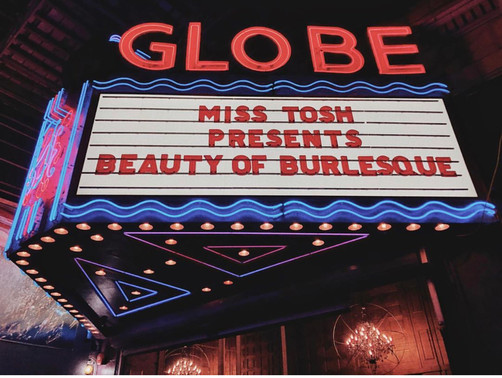 Miss Tosh Present's Beauty of Burlesque