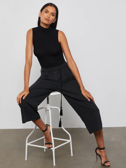 Sleeveless Turtle Neck Bodysuit
