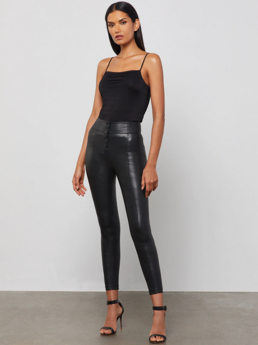 Sleeveless Square-Neck Bodysuit