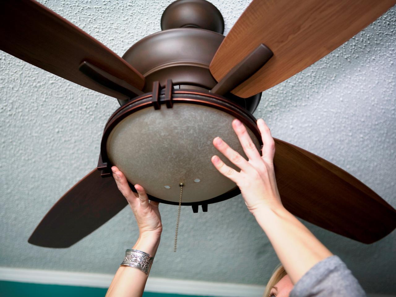 Ceiling Fan Installation <10FT