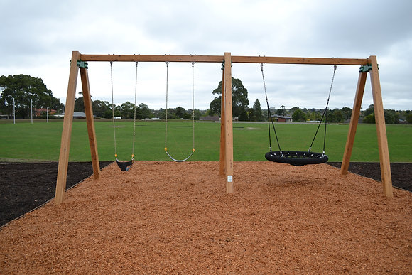 Timber A Frame Swing Unit