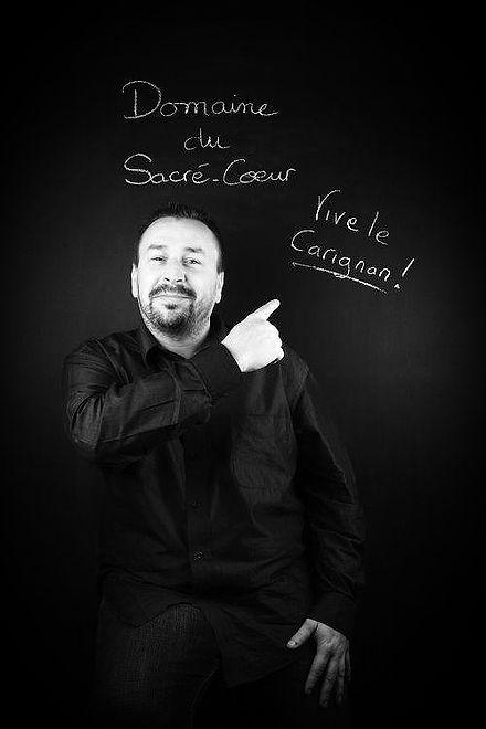 Luc Cabaret vigneron Saint-Chinian