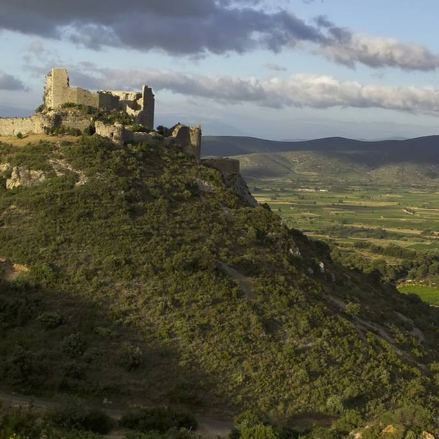 Château Aguilar Sarrat d'En Sol à Tuchan