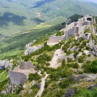 Sarrat d En Sol visite de château cathar