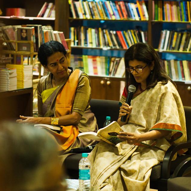 In conversation with author Shoba Narayan, Bangalore 2019