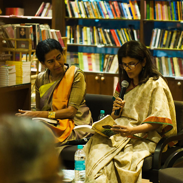 In conversation with author Shoba Narayan, Bangalore 2019