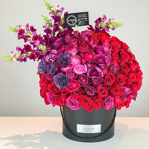 promise rose bouquet fresh flower vancouver delivery