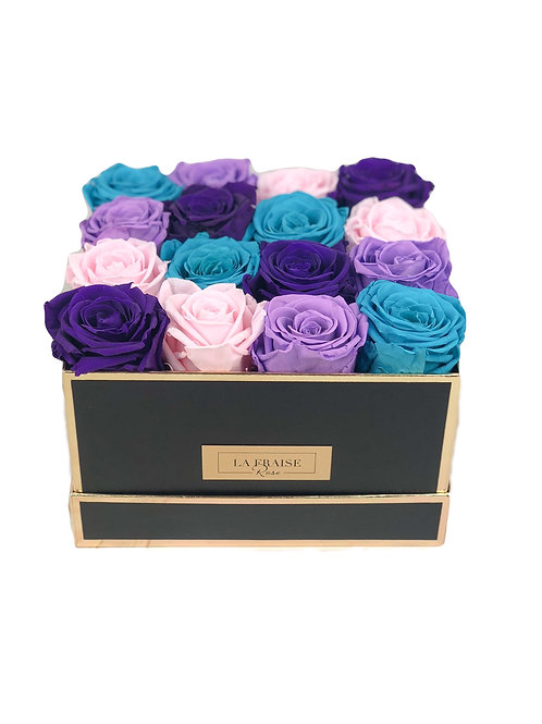 Lavender Bloom Rose Box