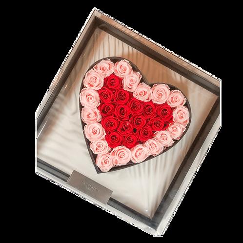 Forever Heart Acrylic Box