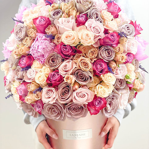 fairytale rose bouquet fresh delivery vancouver flowers