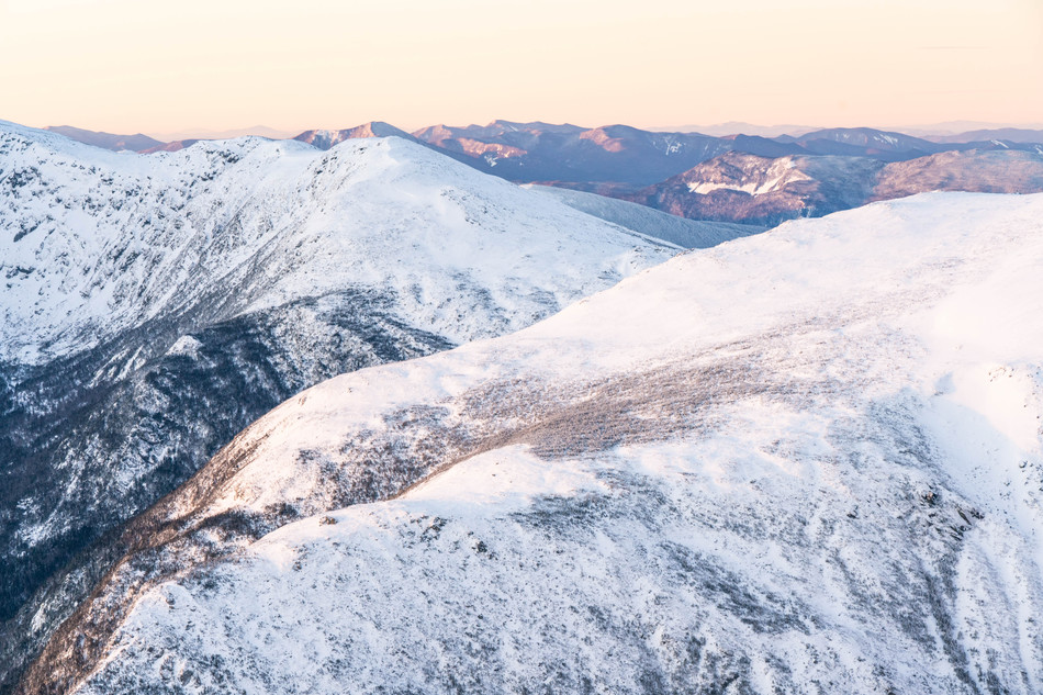 Pastel Morning in the Northern Presidentials, White Mountains, NH