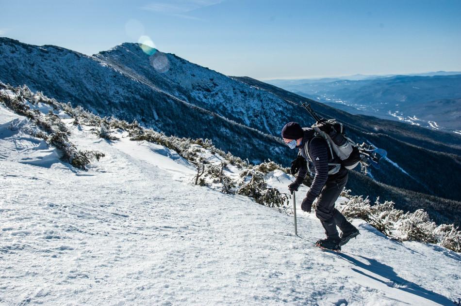 Mount Lafayette Ascent, White Mountains