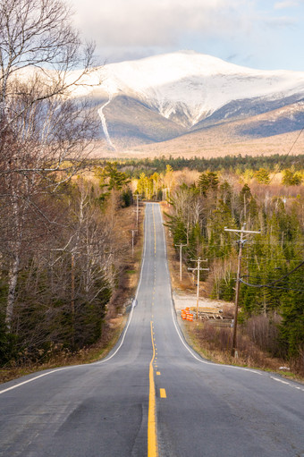 Base Station Road, White Mountains, NH