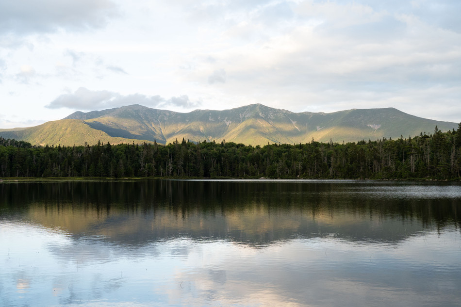 Lonesome Lake and Franconia Ridge, White Mountains, NH