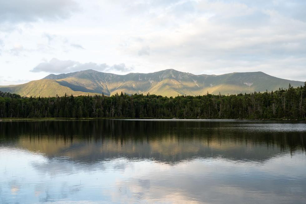 Lonesome Lake and Franconia Ridge, White Mountains, NH