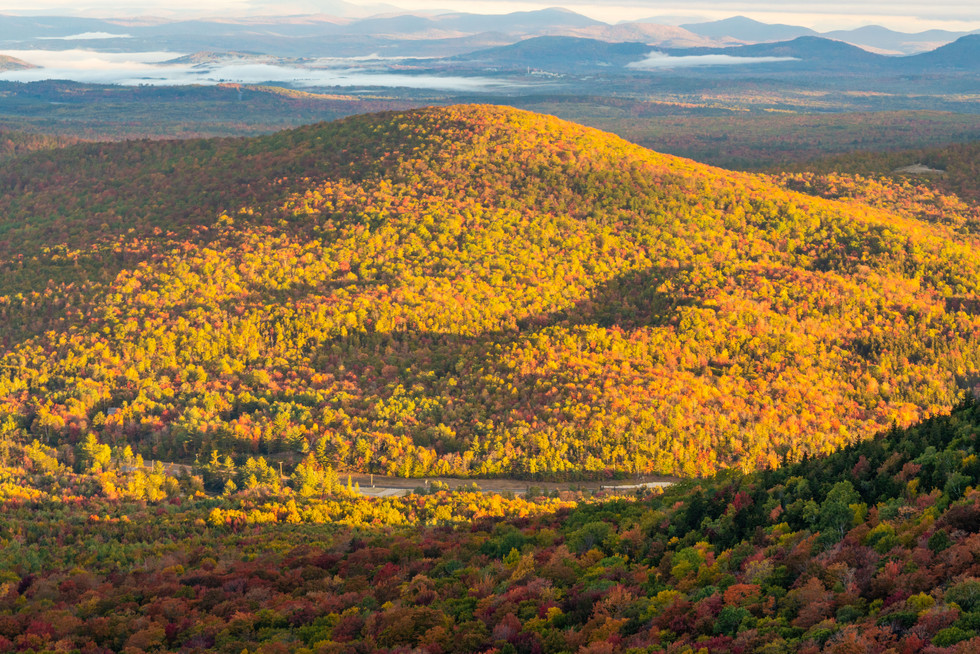 High Above Twin Mountain, White Mountains, NH