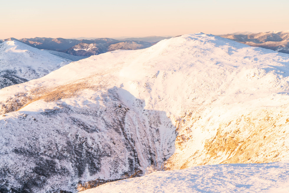 Mount Jefferson on a Winter's Morning, White Mountains, NH