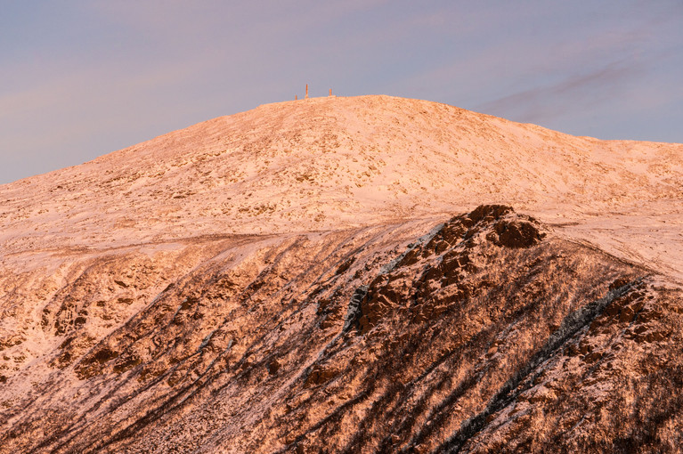 Alpenglow on Lions Head, White Mountains, NH