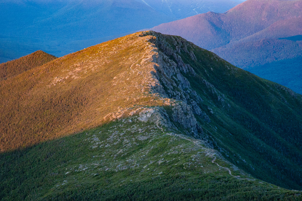 Bondcliff at Sunrise, White Mountains