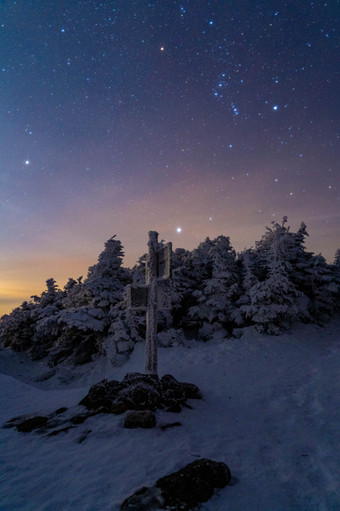 An Orion Night, White Mountains, NH