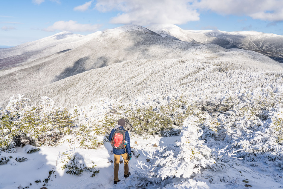 Winter in the Alpine, White Mountains, NH