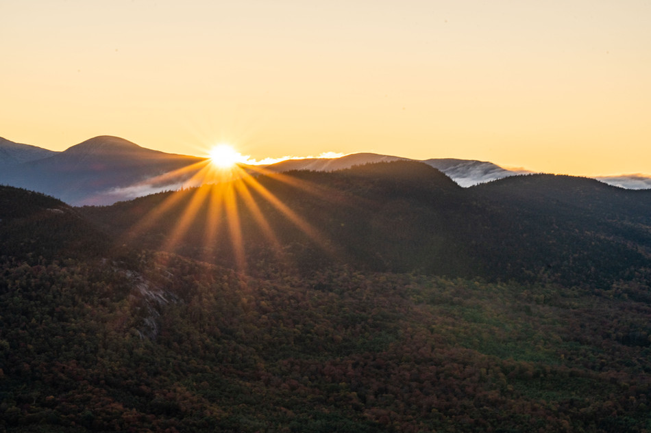 Fall Sunrise, White Mountains, NH