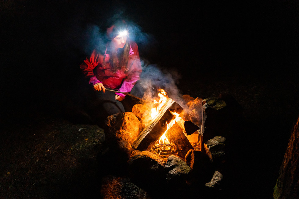 Fire On a Damp Night, ME