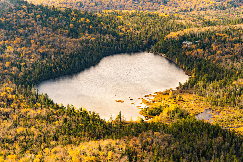 Lonesome Lake from Above, White Mountains, NH