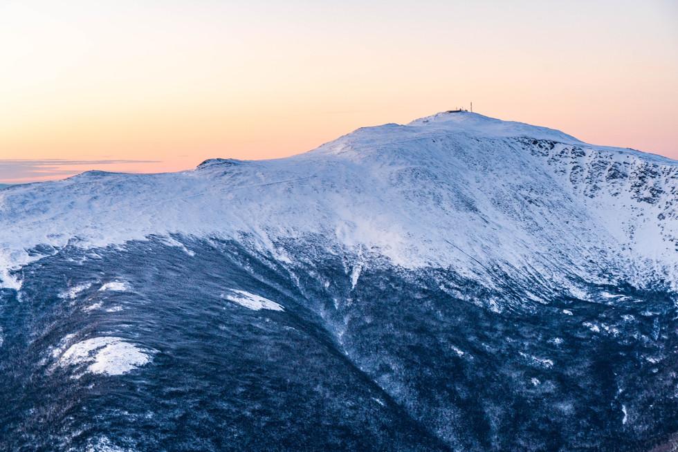 A Pastel Mount Washington, White Mountains, NH