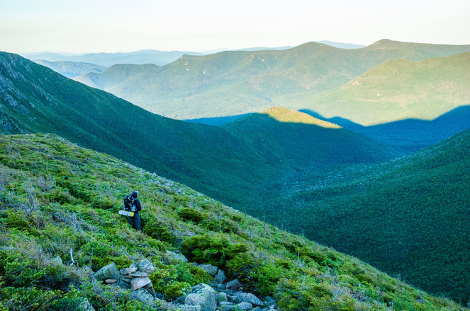 Backpacking in the Pemi Wilderness, White Mountains