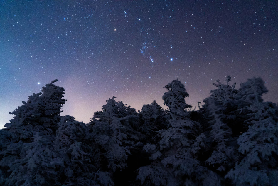 Orion on Mount Pierce, White Mountains, NH