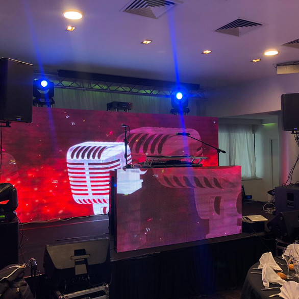 Mur de LED