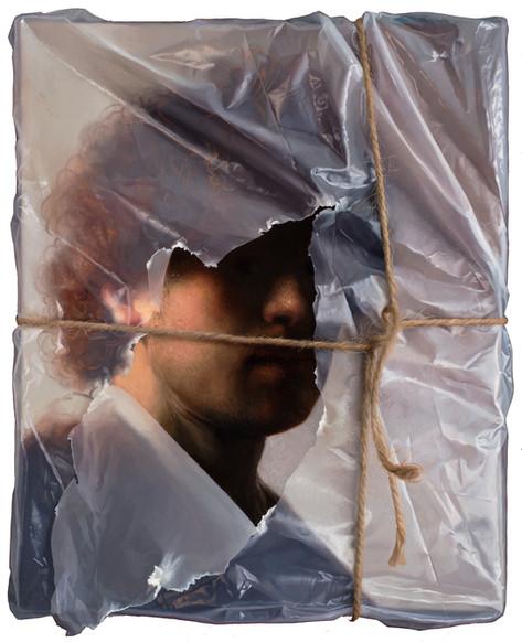 Rembrandt van Rijn, portrait as a young man (wrapped)