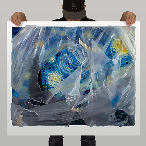 Starry Night (wrapped) - Painted Edition Artist Proof (2)