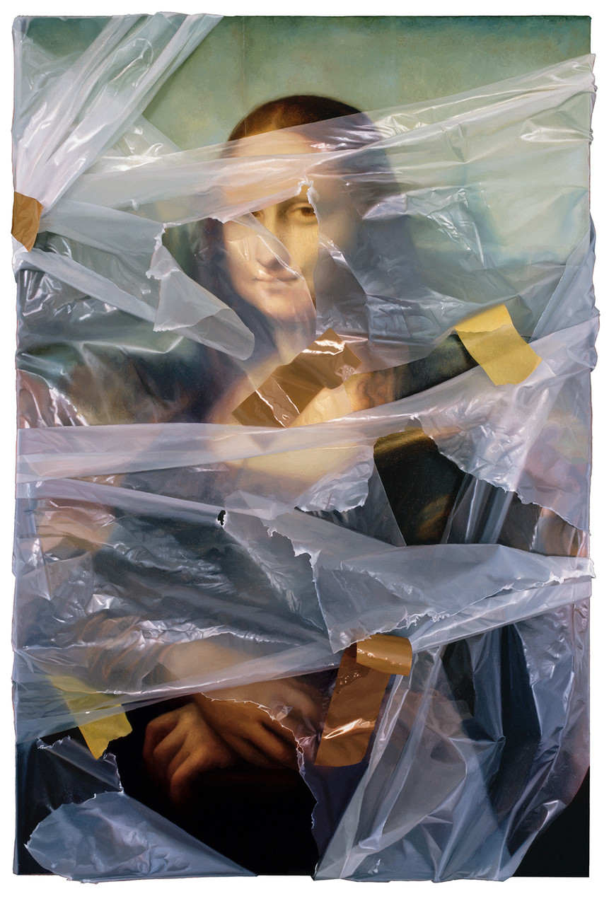Mona Lisa (wrapped)