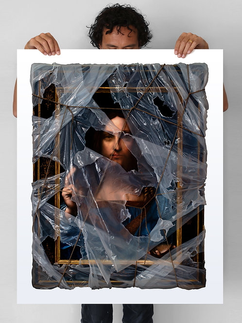 Salvator Mundi (wrapped) - Painted Edition (15)
