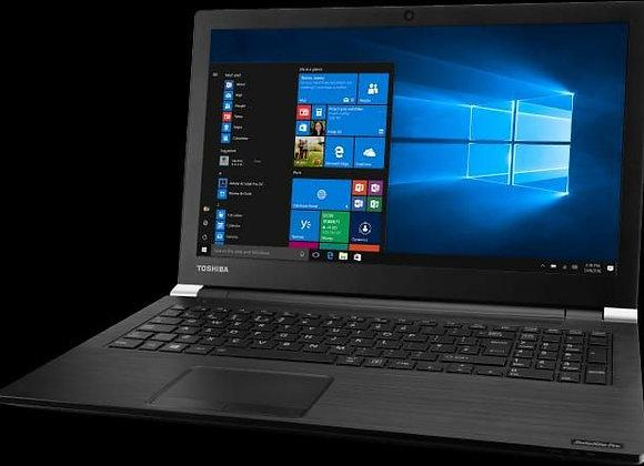 מחשב נייד Toshiba 15.6 Inches / 256 Gb ssd nvme/ 8 Gb Ram/ Win 10 Pro