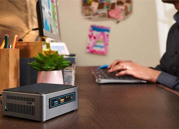 מיני מחשב נייח INTEL NUC